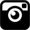 black instagram icon 100x100