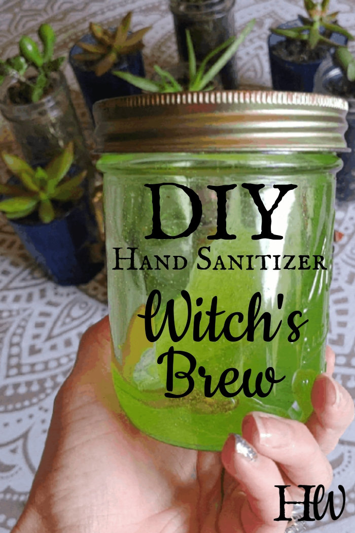 Green Goodness Hand Sanitizer: Witch's Brew