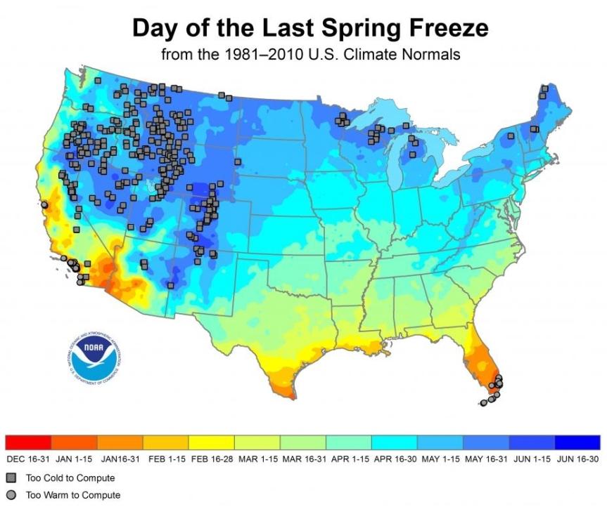 last-freeze-days