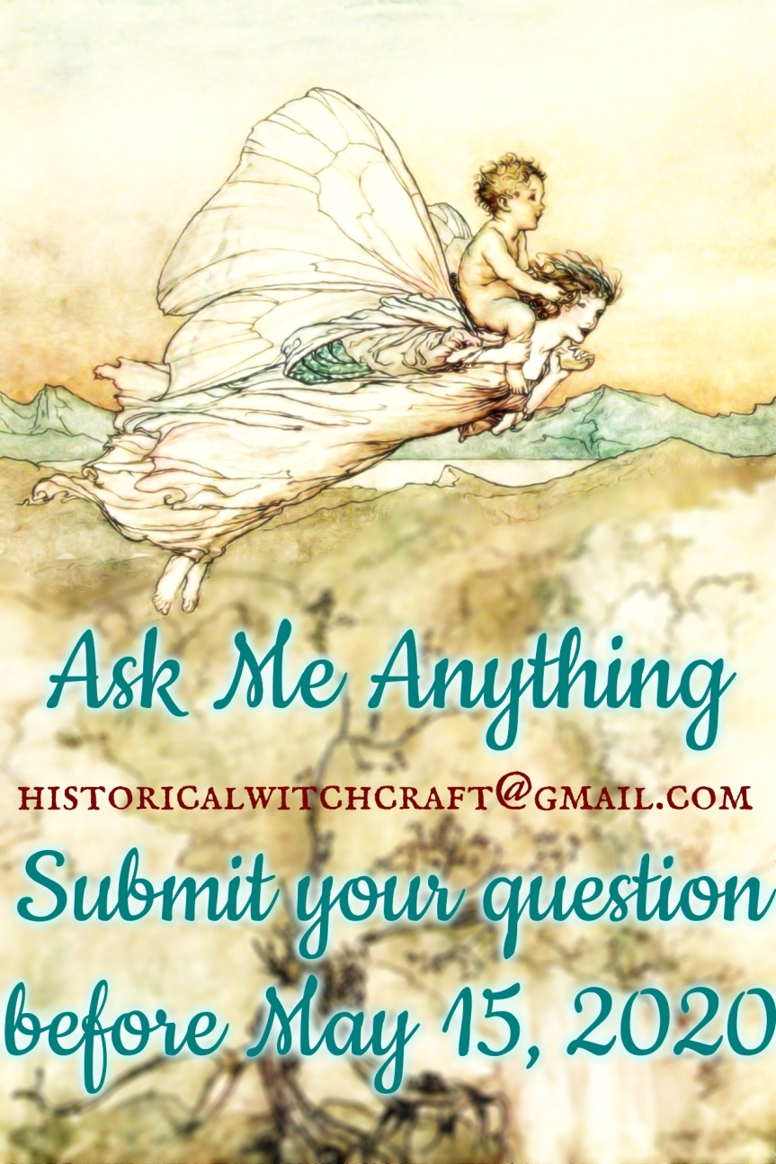 Ask Me Anything with Historical Witchcraft