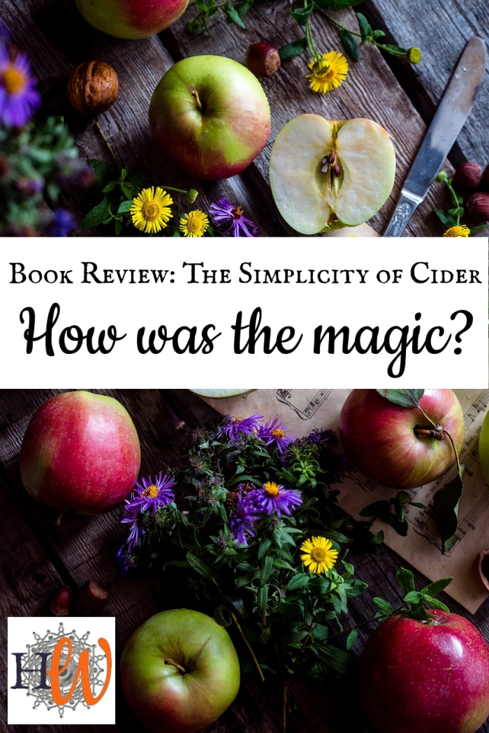 The Simplicity of Cider – BookReview