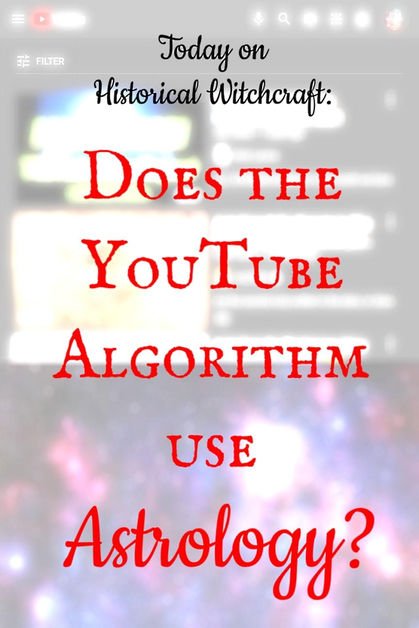 YouTube Algorithm andAstrology